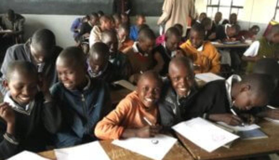 Kat Kronenberg visits Africa
