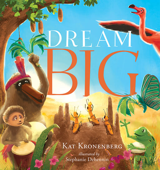Media for Press: Dream Big Book Cover