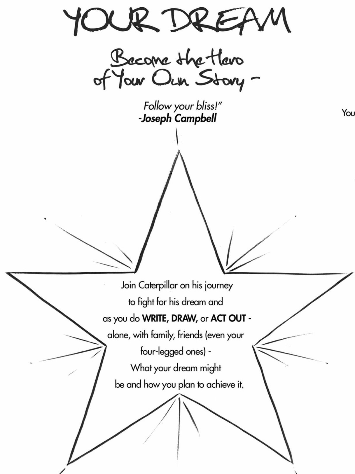 Motivational activity download for kids: Dream Book