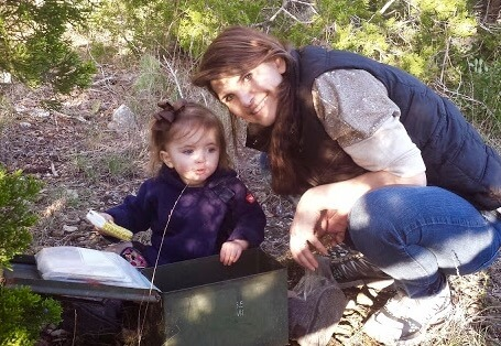 Mother-Child Fun - Geocaching