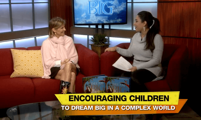 Children's Book author Kat Kronenberg on News 4: San Antonio, Texas