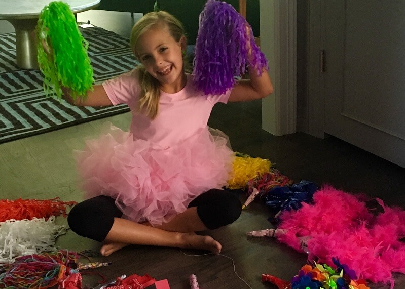 Fun with PomPoms