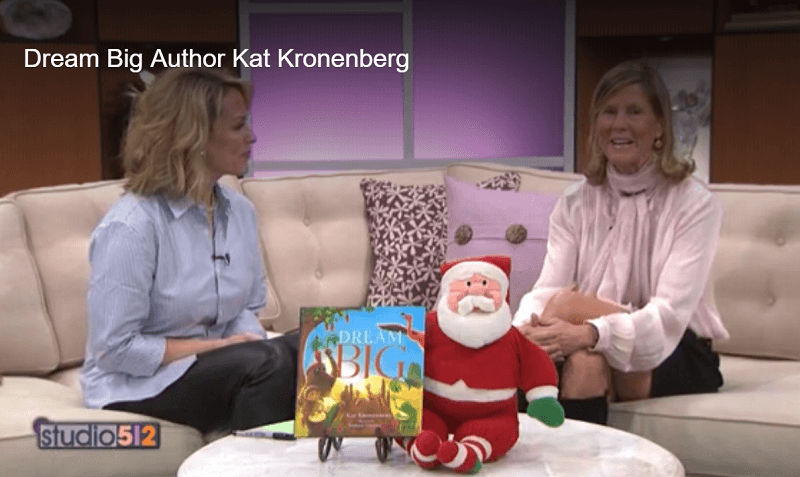 Media Gallery: Author Kat Kronenberg on KXAN, Austin
