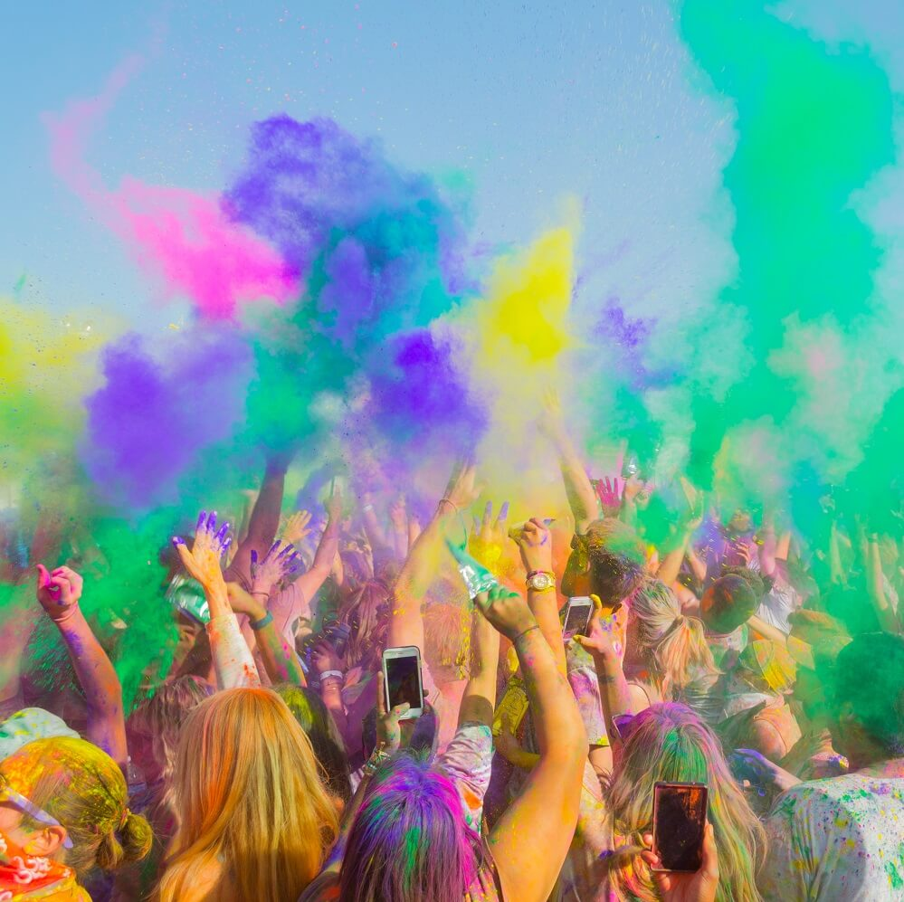 Holi Festival of Colors in California
