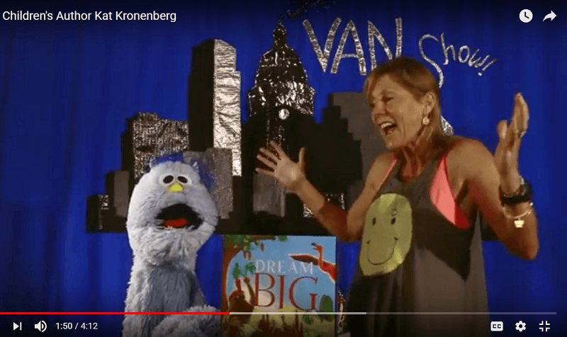 "Children's Book author Kat Kronenberg on ""The Van Show,"" Austin Public Library"