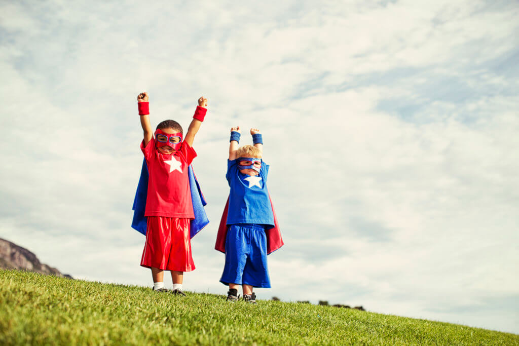 World Smile Day Superheroes