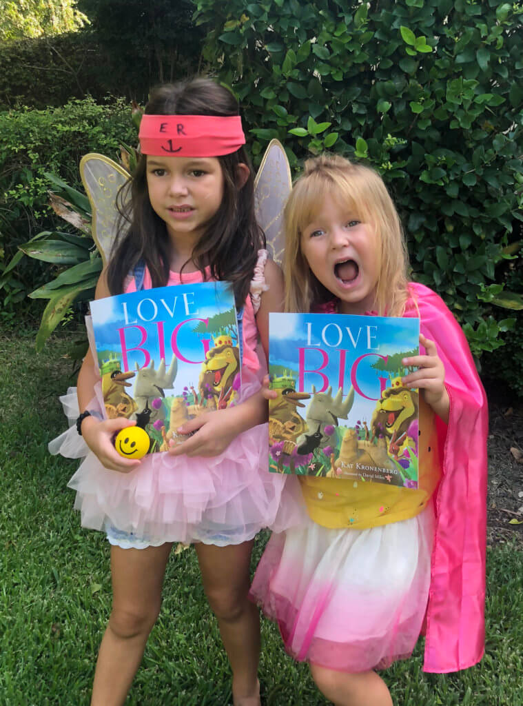 Kids with Love Big by Kat Kronenberg