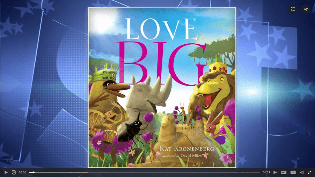 Media Gallery: Author Kat Kronenberg on CBS Austin