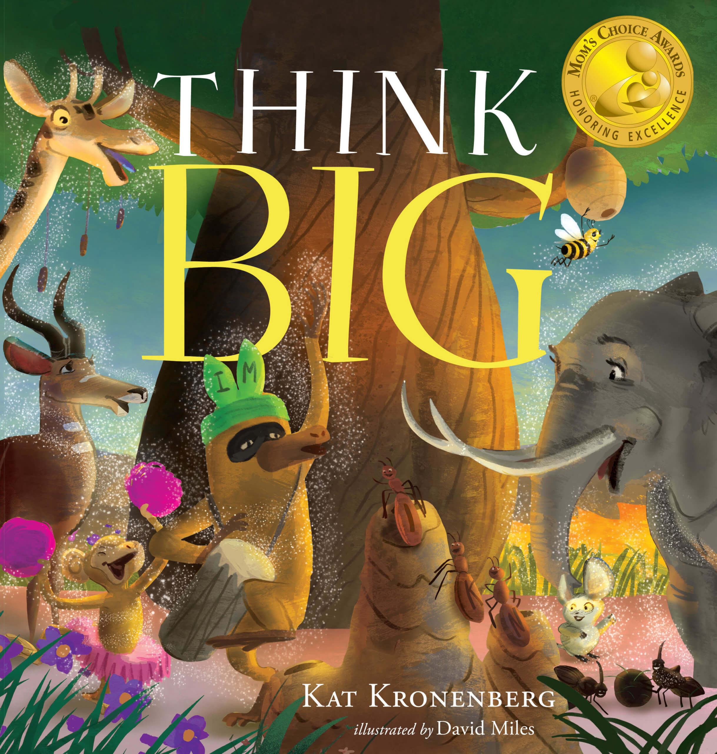 LIVE BIG by picture book author Kat Kronenberg